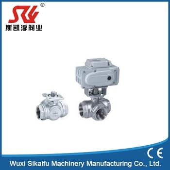 Unusual Pvc Electric Actuator Ball Valve New Product