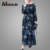 Modern Fashion High Quality Floral Muslim Dress Pakistani Designer Dresses Abaya Designs Dubai Pictures