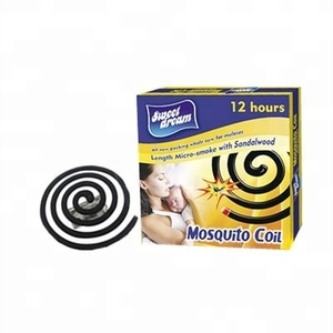 Sweet Dream Brand Black Mosquito Coil Less Smoke Mosquito Coil 8-13hrs
