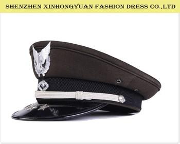 7d666c06db415 Hot Sale Air Force Caps Pilot Cap Security Guard Hats Military Caps ...