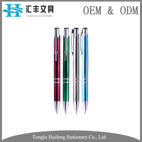 HF5221B parker refill thin metal touch pen with custom logo