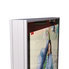 Double-sided magnetic type advertising led light box, easy to change posters