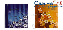 GuanMei Printing Cover slip in pocket design Memory Photo Album , paper slip sheet photo album
