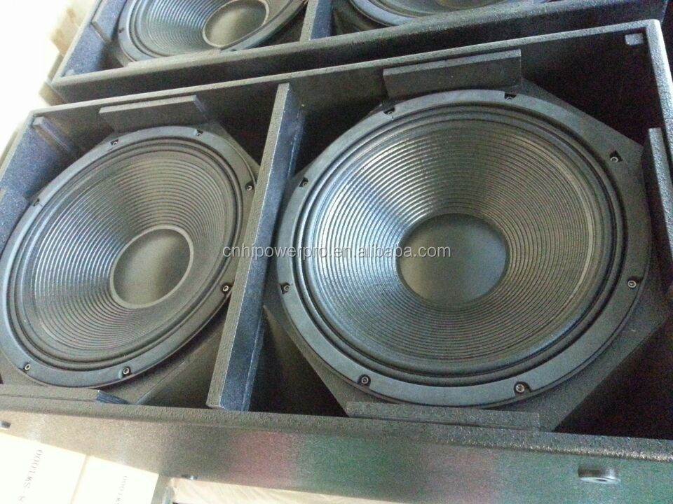 Dual 18 Inch Subwoofer Speakers QGS-218 Professional Outdoor Stage  Subwoofer Box, Wood Speakers Cabinet, View Dual 18 Inch Subwoofer Speakers  Box,