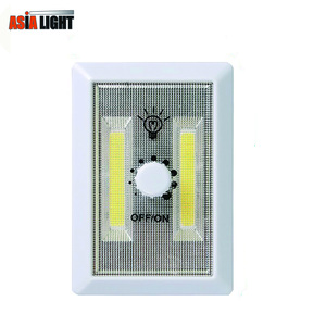 Portable Night Light COB LED Dimming Switch Light