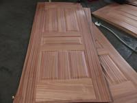sapelle veneer mold door skin 2.7mm for India market