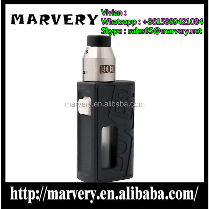 New arrival Marvery vape box mod Kit in four color in wholesale best box mod