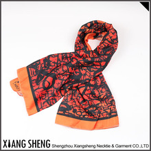 Oem Custom Design Digital Printing Silk Scarves
