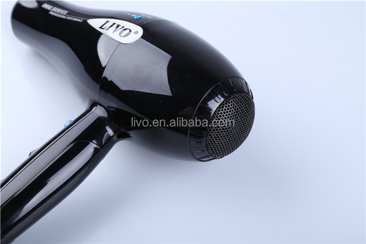 Livo Tech2100W Superior Nylon PA66 Ion Hair Dryer with Concentrator