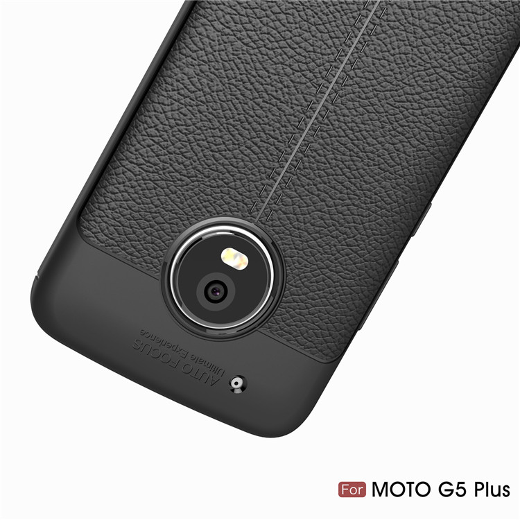 New series Leather design soft tpu mobile phone cover case for Moto G5 Plus