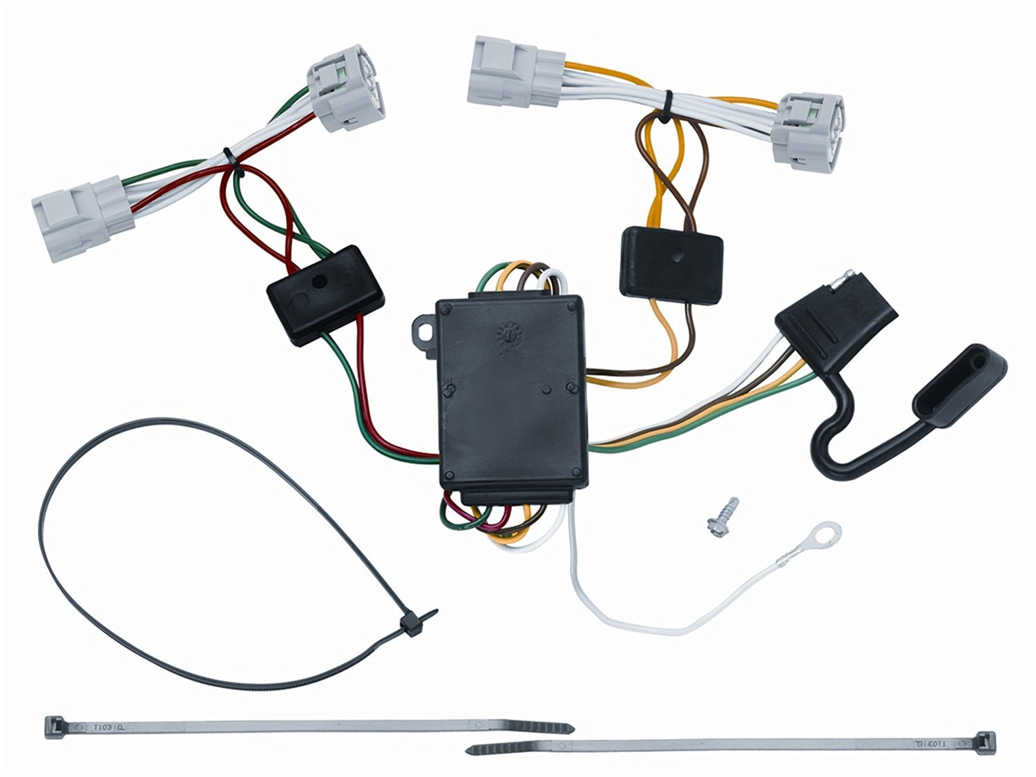 Trailer Wiring 05-12 Toyota Tacoma 93-98 Toyota T-100 Pickup 08-12 Toyota Hilux