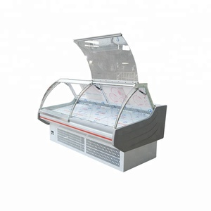 supermarket equipment deli serve over refrigerated cabinets