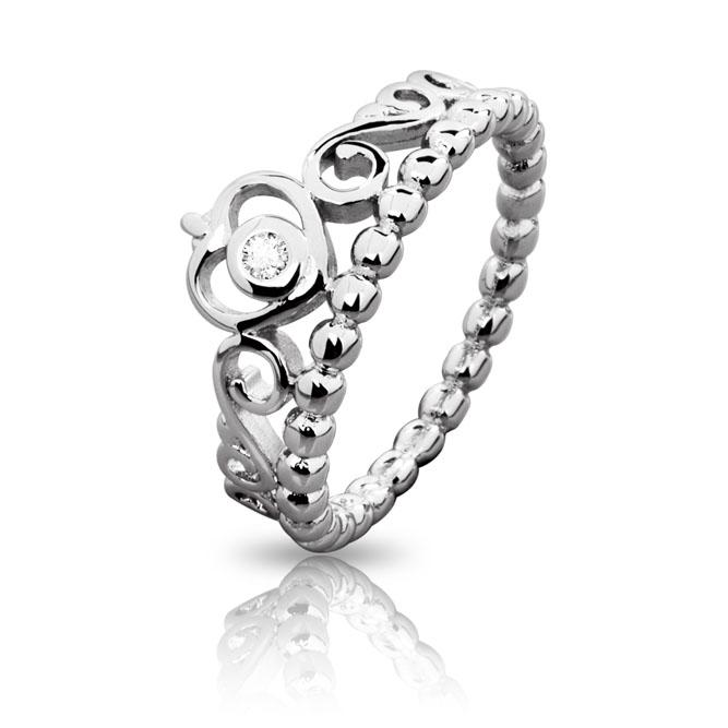 pandora anello tiara