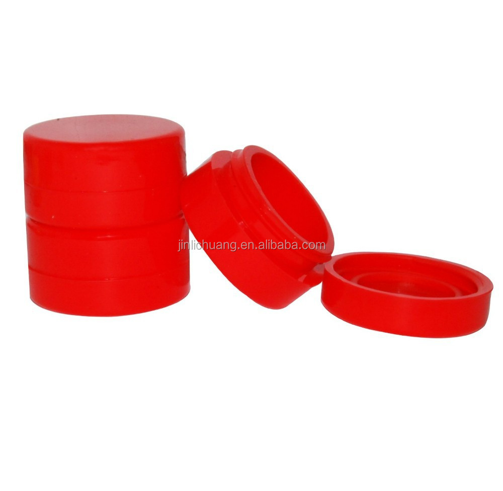 2015 High Quality Hot Selling Silicone Dab Wax Containers, Silicone Wholesale Bho Jars
