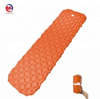 inflatable ultralight sleeping pad 20D nylon 40D TPU self inflating air mattress camping lightweight sleeping mat