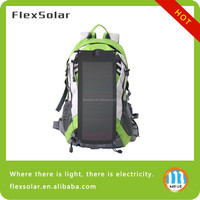 Multifunction hiking camping solar backpack, 2014 New style outdoor solar backpack ,charger bag