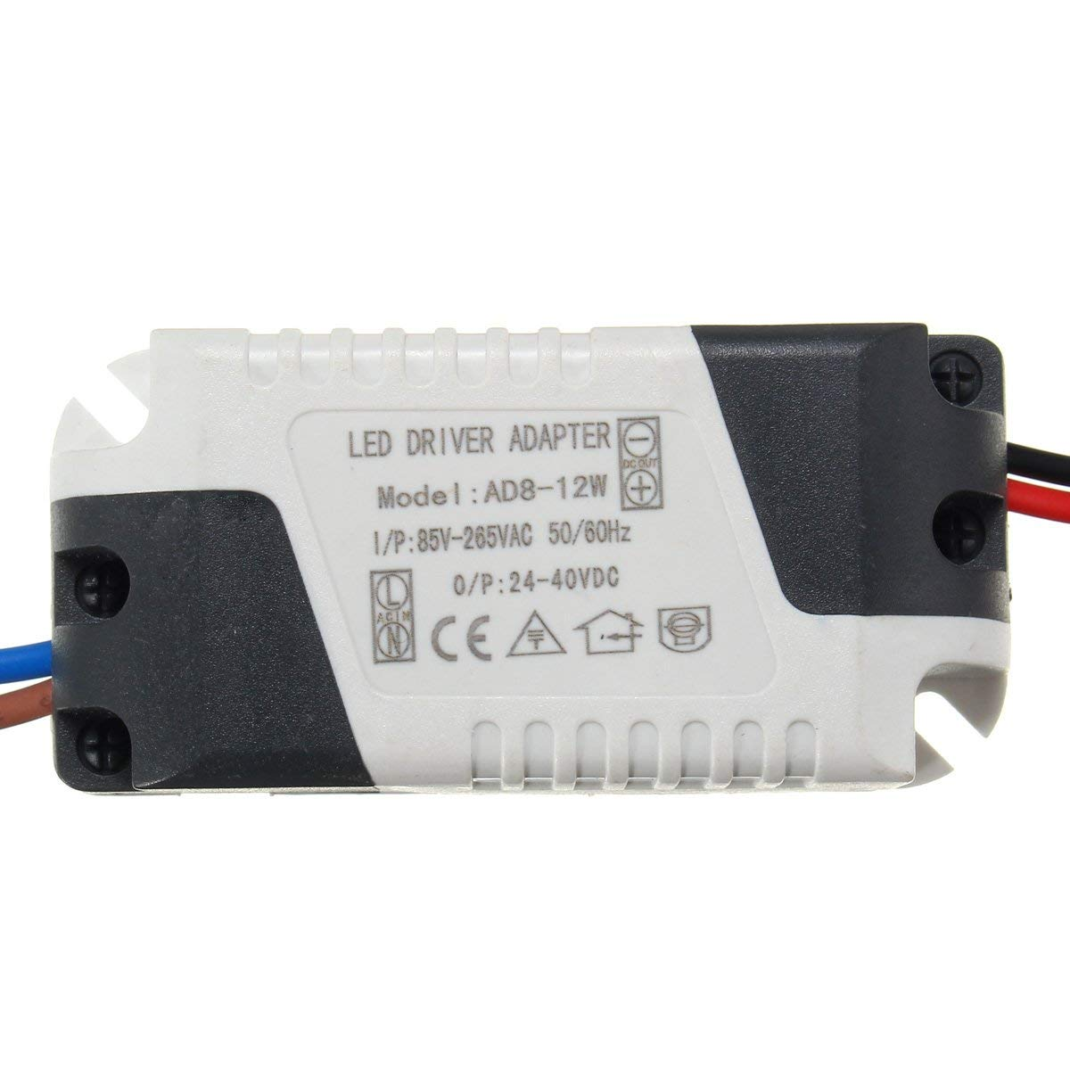Wincom Dishman LIGHTING ACCESSORIES AC85-265V To DC24-40V 8-12W 300mA LED Light Lamp Driver Adapter Transformer Power Supply