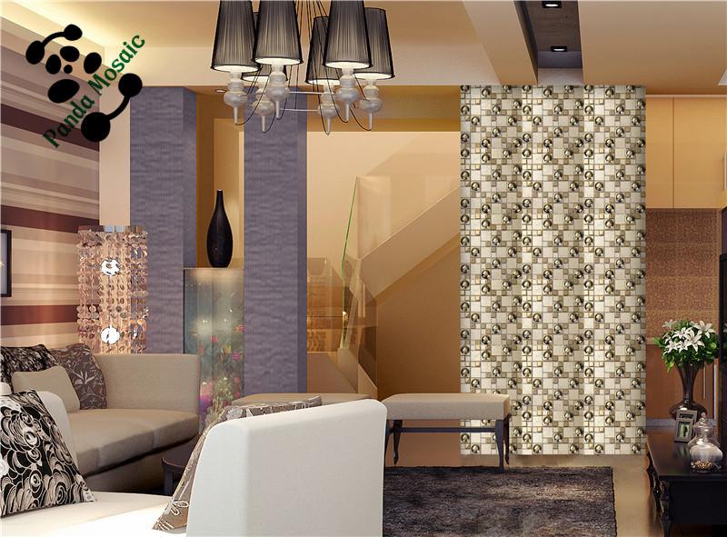 Gouden Mozaiek Tegels : Mb smg speciale vorm ontwerp luxe gouden mozaïek keramische mix