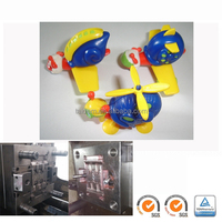 plastic blowing led candle light mould