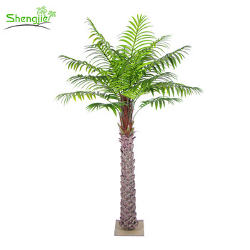 Best Price Landscape Artificial Fake Palm Plants Tree For Outdoor Decorations