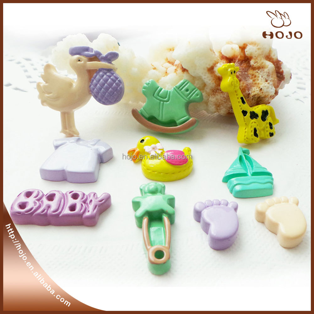 Children's hair resin accessories DIY phone materials creative gift decoration supplies