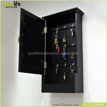 Wholesale wall hanging wooden key storage cabinet with dressing mirror & Wholesale Wall Hanging Wooden Key Storage Cabinet With Dressing ...