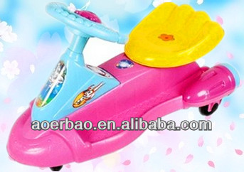 2015 Newest beautiful lovely baby swing car