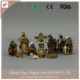 Hot Sale New Product Religious Resin European Christmas Nativity Set