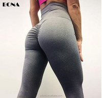2018 New Design Quality Brazilian Workout Flattering Scrunch Butt Leggings