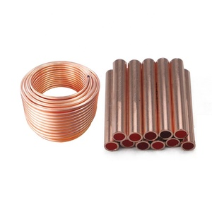 CuNi 90 / 10 Copper Nickel Alloy Tube / Pipe For Air Conditioner / AC
