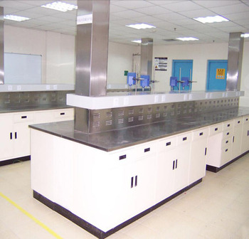 Stainless Steel Work Table With Wheels Laboratory Furniture