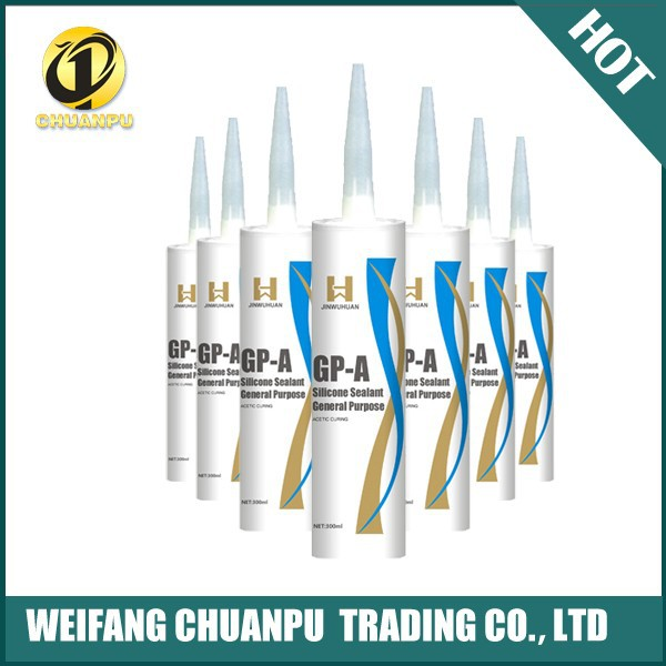 GP-A deep sea ahesive glass silicone sealant with factory price