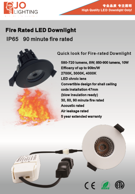 Ip65 Cob Led Downlight Led Lights Uk Market Led Fire Rated ...