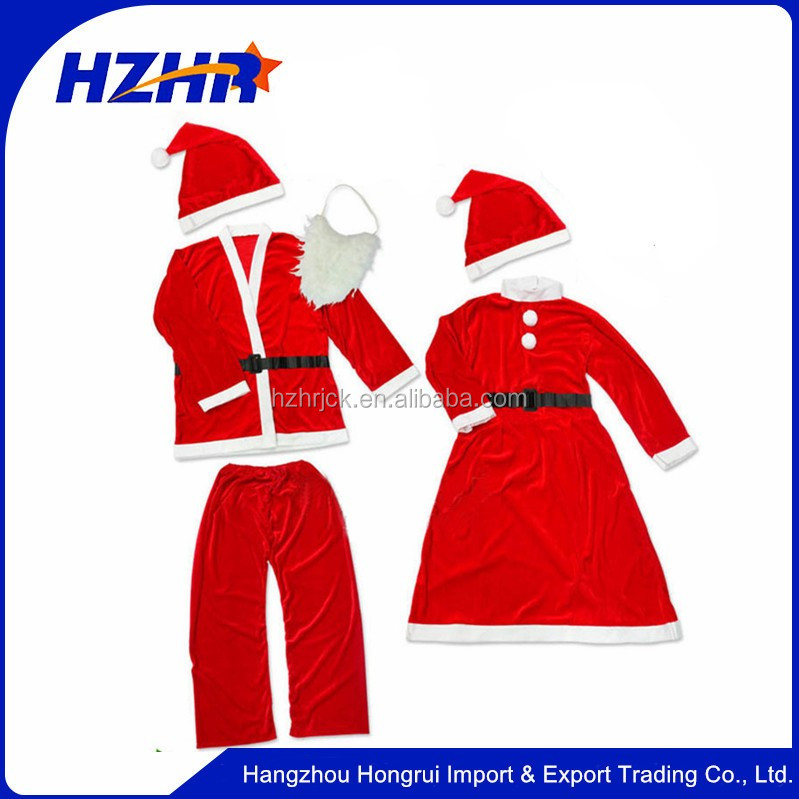 OEM Service Supply Type and men Character Type santa claus costume