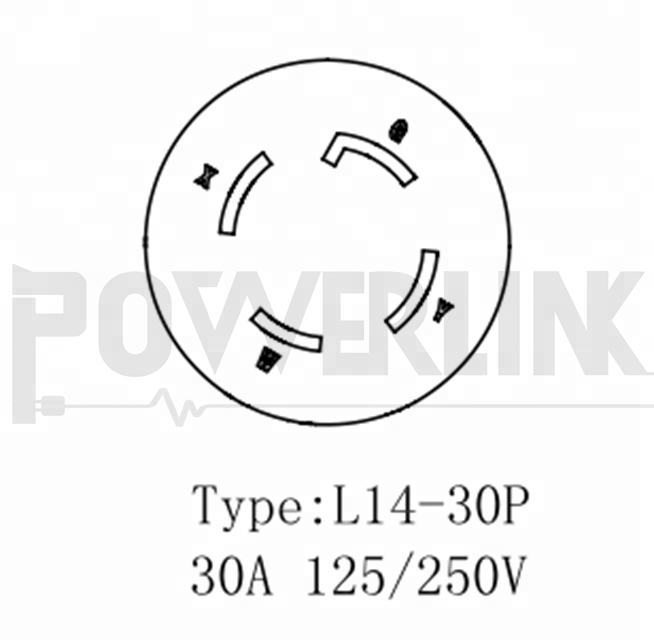 Wire Diagram For 30a 125 250v