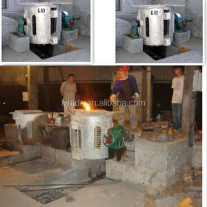 supply installation service 2t induction melting furnace 1 ton