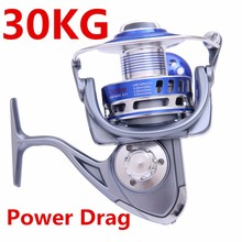 MX3000-10000 30 kg Power Drag 12 + 1 Kugellager Spinning Reels Heavy Duty Meer Fischerboot Angeln <span class=keywords><strong>Jigging</strong></span> Angeln reel