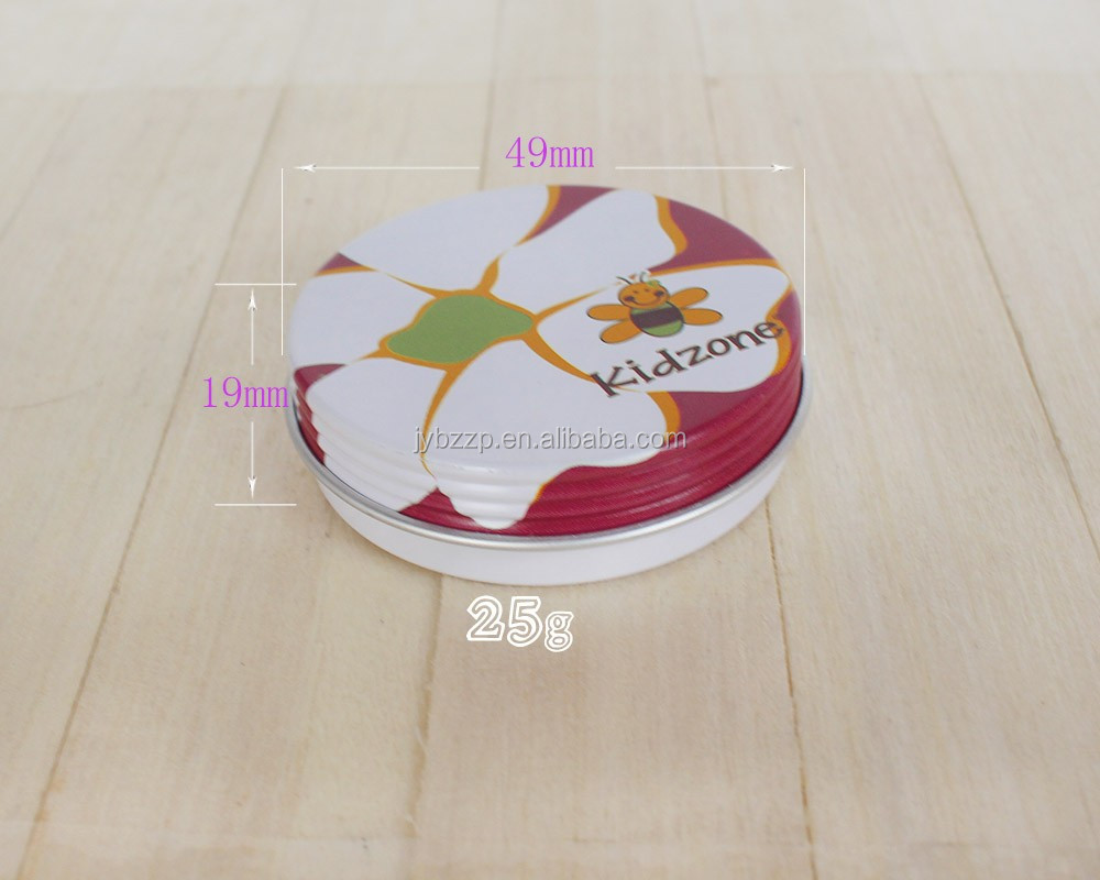 20ml cosmetic empty tin wholesale candle tin