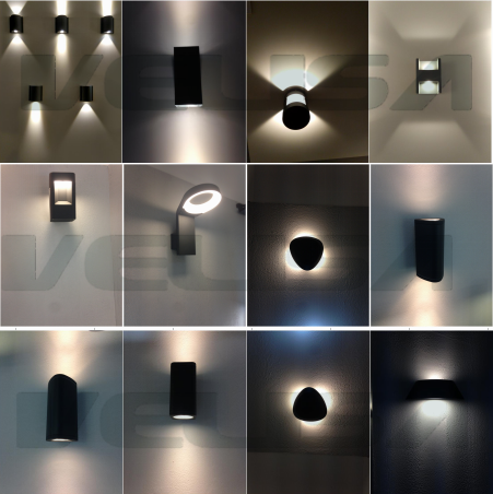 2w lmodern aluminum ed wall lamp outdoor up and down wall light 2w lmodern aluminum ed wall lamp outdoor up and down wall lightled wall lamp mozeypictures Choice Image