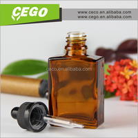 wholesale 15ml 30ml amber glass dropper bottle for essential oil shipping by sea door to door