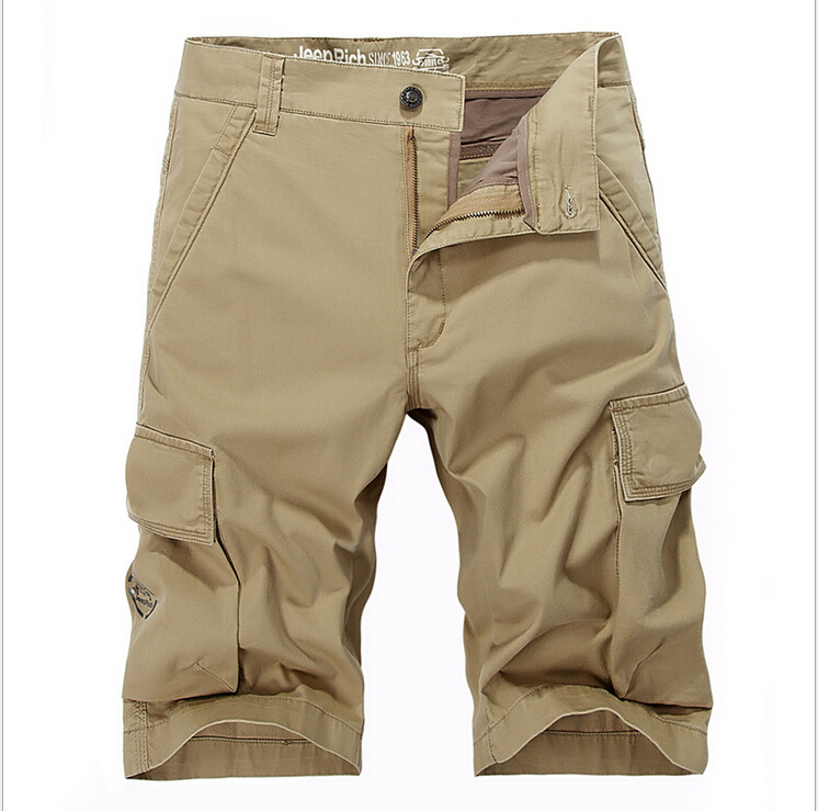 Khaki shorts 2015 NEW brand summer Best sale shorts cargo mens fashion Camo Cargos men casual Shorts Knee-length shorts for men