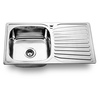 custom made Small Size single bowl 304 stainless steel kitchen sink