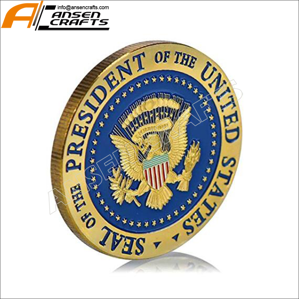 Custom China Manufacturer Trump 2020 Coin