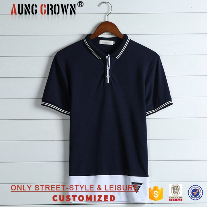 Direct factory selling custom polo t shirt golf type for Different types of polo shirts