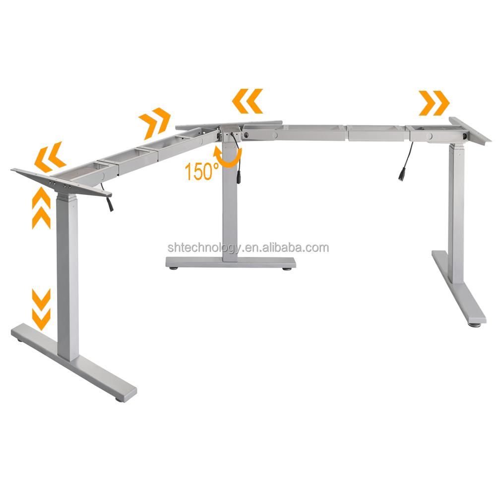 Height Adjustable Desk Frame Height Adjustable Desk Frame Suppliers - Electrically driven adjustable table legs
