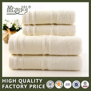 Cheap wholesale 100% cotton white face towel Hotel Monochrome small beach towel