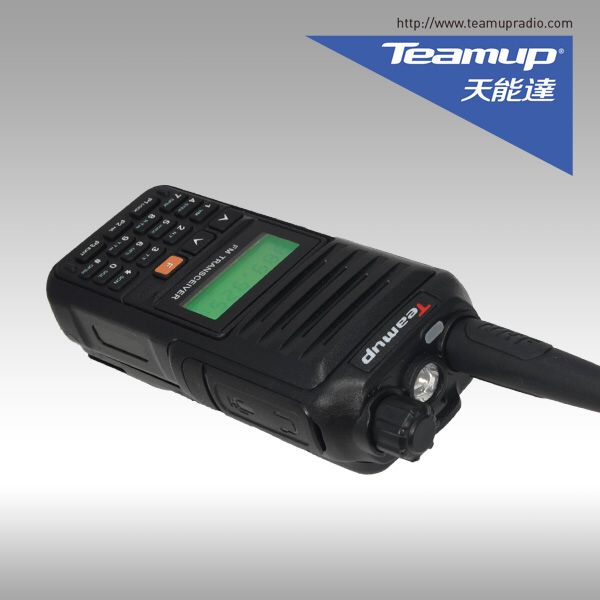 10 Watt Walkie Talkie 15Km Teamup TK-12 400-480 MHz Dua Cara Radio Worthwide Profesional Walkie Talkie