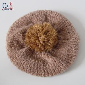 2cc96fcceaa8b Cotton Knit Beret