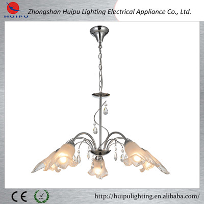 Modern new model 8 lights nice chandelier lighting with glass shade