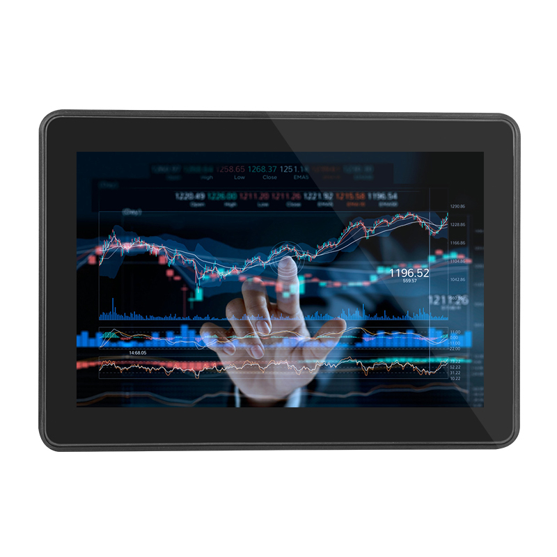 Standard B type USB Customized Brightness 10.1 Inch HD touch screen monitor open frame with 10 Points Touch